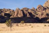 Organ Mountains along the Soledad (Bar) Canyon trail