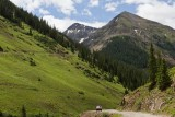 Rough mountain road from Silverton to abandoned mining town