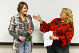 Madeleine Brown and Dr. Miriam Chaiken