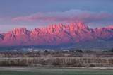 Sunset on the Organ Mountains
