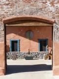 Art gallery courtyard