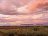 Sunset over the Mesilla Valley and Organ Mountains
