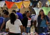 Tuesday market -- just too many choices