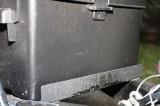Herculiner covering the battery box bracket