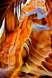 The Upper Antelope Canyon