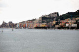 Spienza from the sea -Typical Adriatic  Houses