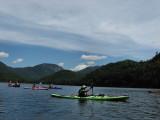 Kayaking Henderson LakeJuly 28, 2011