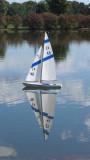 Radio Control Sailboat ReflectionSeptember 18, 2011