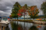 Autumn in Lake George in HDR