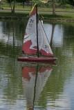 Radio Control Sailboat Reflection