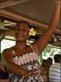9482.Hula DancerOn River Cruise