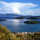 View on Skorpios island