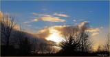 A SPECTACULAR WINTER SUNSET