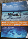 A guy named George showed me this book about the Marovo Lagoon. Written by norwegian professor Edvard Hviding!