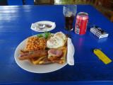 Napatana Lodge breakfast