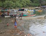 Alotau harbour beach