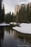 El Capitan and Merced River-Yosemite