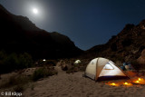 Moon rise at South Canyon Camp  1