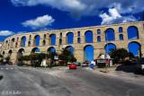 The aqueduct..