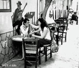 Café scene..