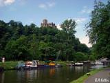 Burg Lahneck und Lahn