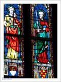 Kirchenfenster mit Apostel Peter & Paul