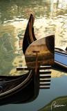 Reflection on a gondola