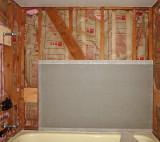 Backer board & insulation
