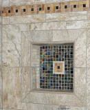 Recessed Wall Niche grouted