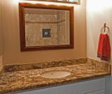 Vanity & Granite Top installed