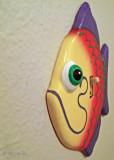 Fish Light Switch plate