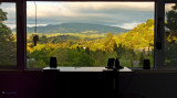 Sunroom View - Old Windows