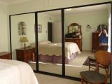 Old Closet Doors  - front bedroom