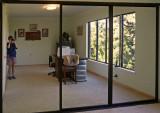 Old Closet Doors - master bedroom (studio)