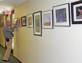Rossmoor Camera Club Exhibit Change