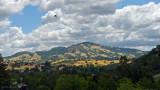 Cloud Shadows on Mt. Diablo - Midday