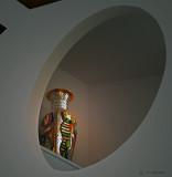 Framed Art Vase