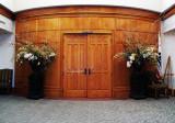 Del Valle Clubhouse Delta Room Doors