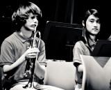 austin & hannah on trumpet