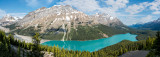 Peyto Lake Panorama