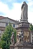 Leonardo facing La Scala