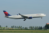 Delta Airbus A330-300 N816NW