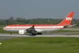 LTU Airbus A330-200 D-ALPE Old colour scheme