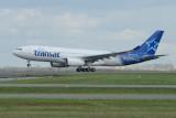Air Transat Airbus A330-200 C-GTSI new Bienvenue livery'