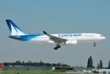 Corsair International Airbus A330-200 F-HBIL new colours