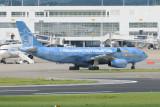 Etihad Airbus A330-200 A6-EYE Manchester City Football Club