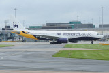 Monarch Airbus A330-200 G-SMAN with new titles