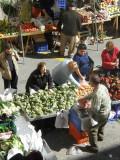 Market bustle