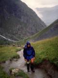Climbing in the rain