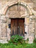 Little used church door